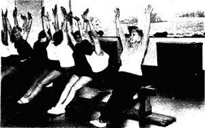 Gymnastikriege der Frauen